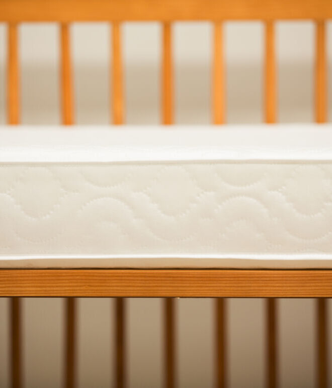 117 x 53 x 10 cm Cot Safety Mattress