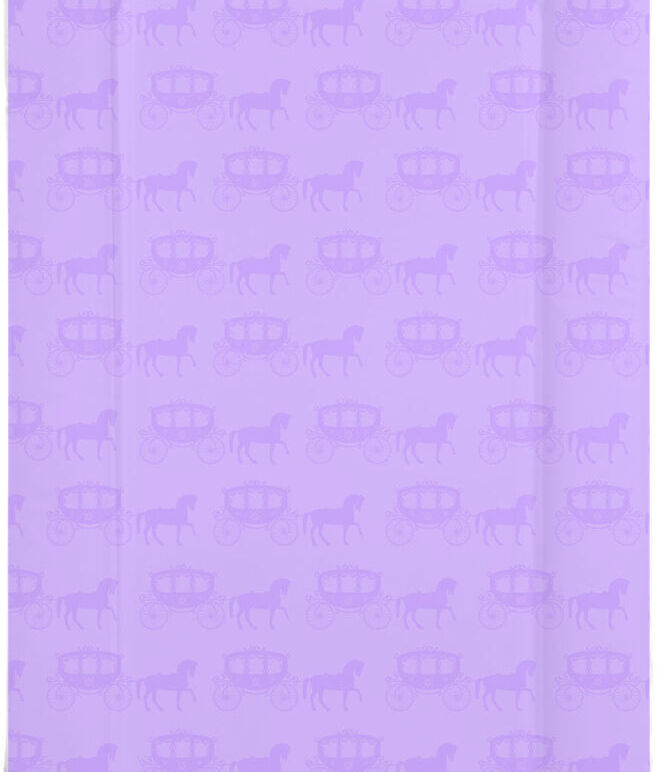 Changing Mat - Purple Carriage - Horse and Carriage
