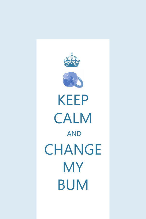 KEEP CALM - blue2