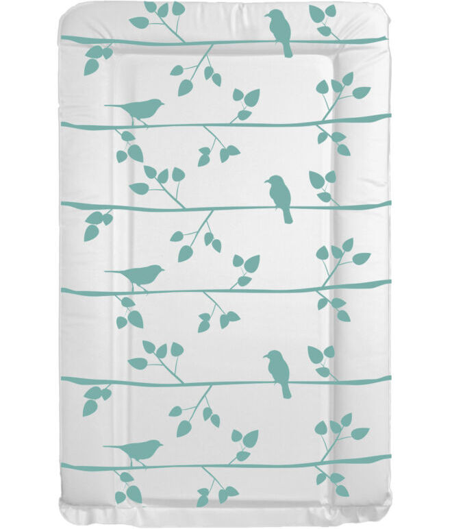 Changing Mat  - Bird & Branches - Teal