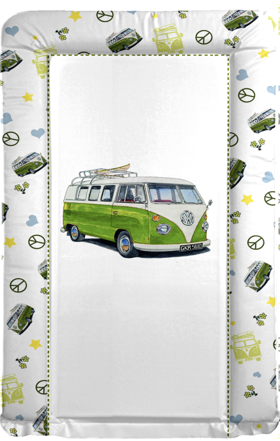 VW Camper - GREEN