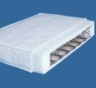 Fully sprung cross section half of mattress