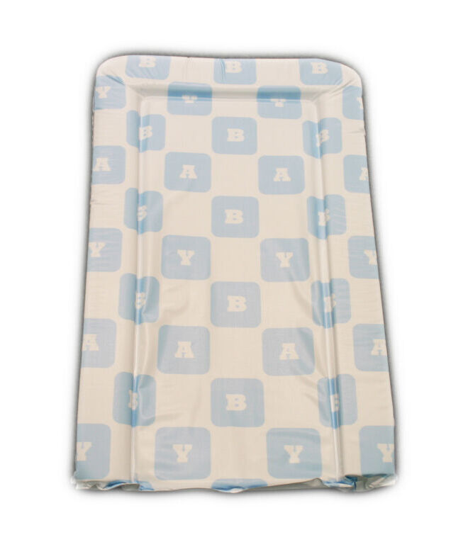 Changing Mat - Baby Blocks - Blue