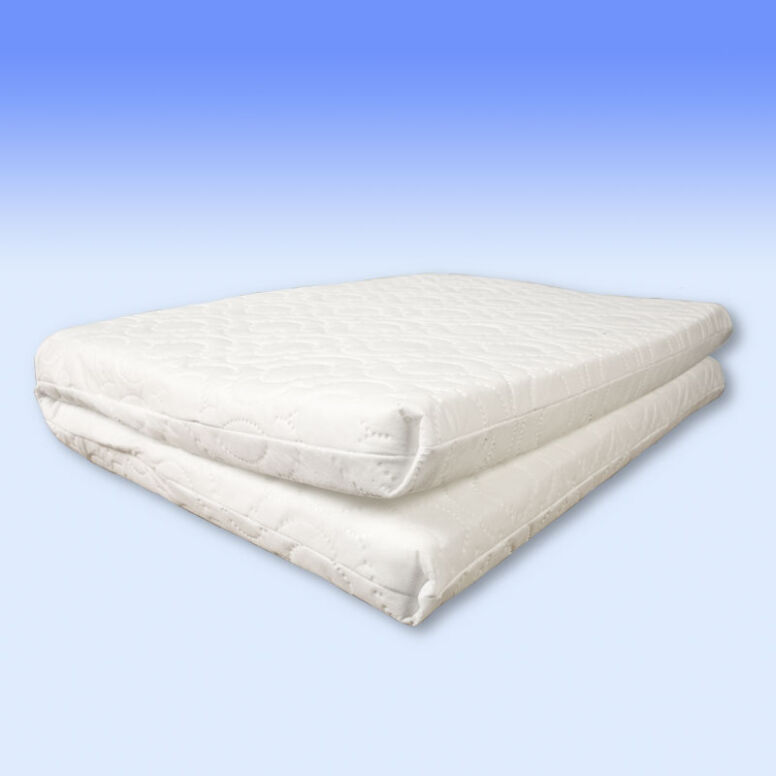 reputable site 3e5a1 469e6 Custom made foam safety mattress for travel cots made in the ...