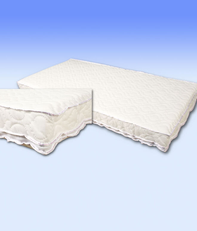 139 x 69 x 10cm cm Cot Safety Mattress