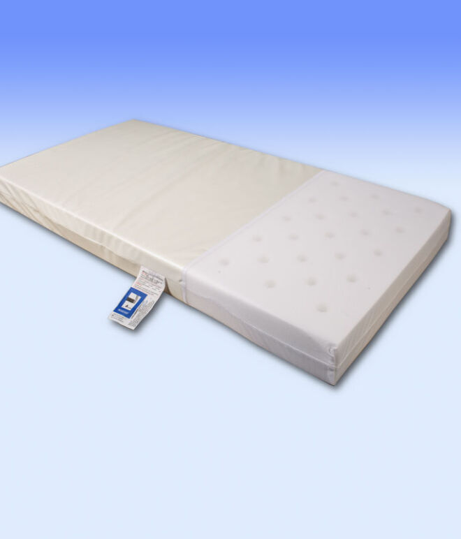 126 x 62.5 x 10cm cm Cot Safety Mattress